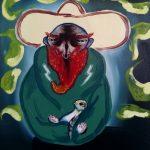 """brotherhood"" series 35x40cm oil on canvas 2020 price : 195€"